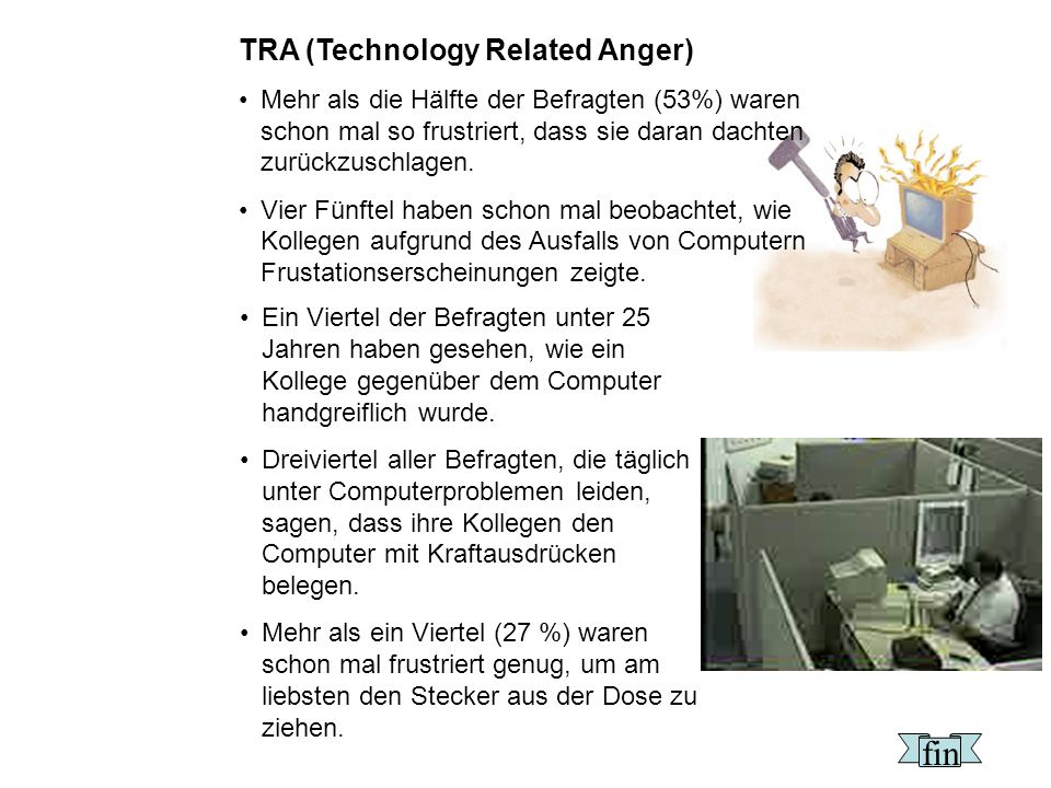 fin TRA (Technology Related Anger)
