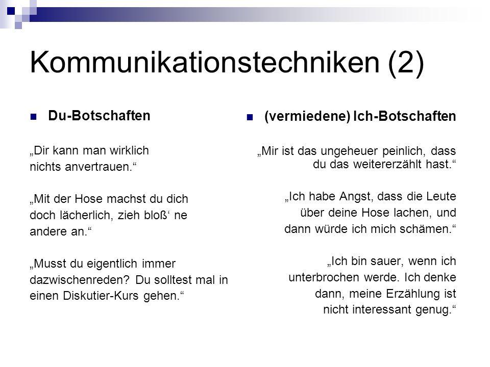 Kommunikationstechniken (2)