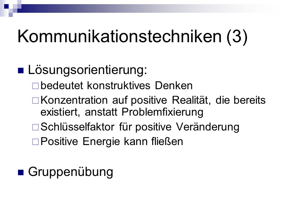 Kommunikationstechniken (3)