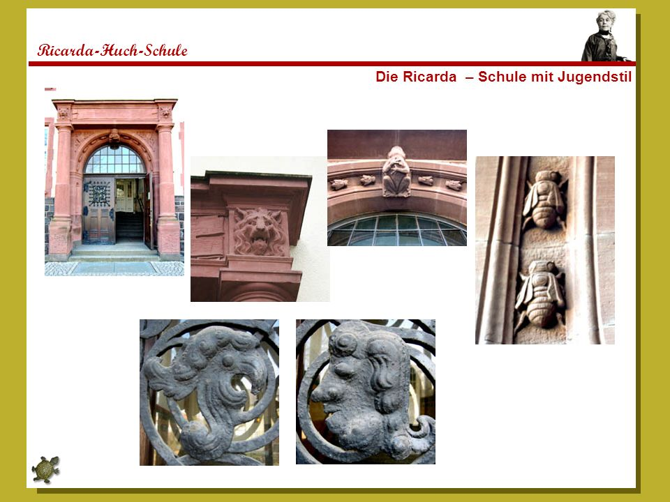 Ricarda-Huch-Schule Die Ricarda – Schule mit Jugendstil