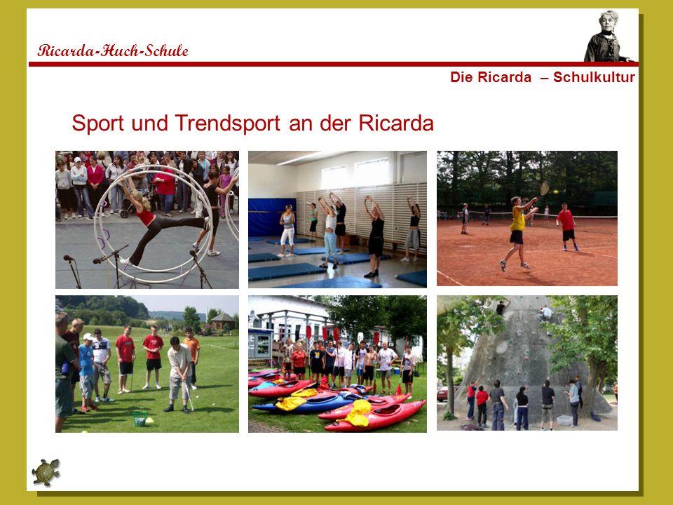 Sport und Trendsport an der Ricarda