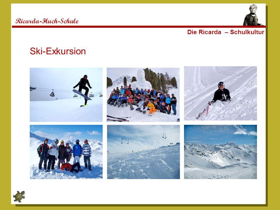 Ricarda-Huch-Schule Die Ricarda – Schulkultur Ski-Exkursion