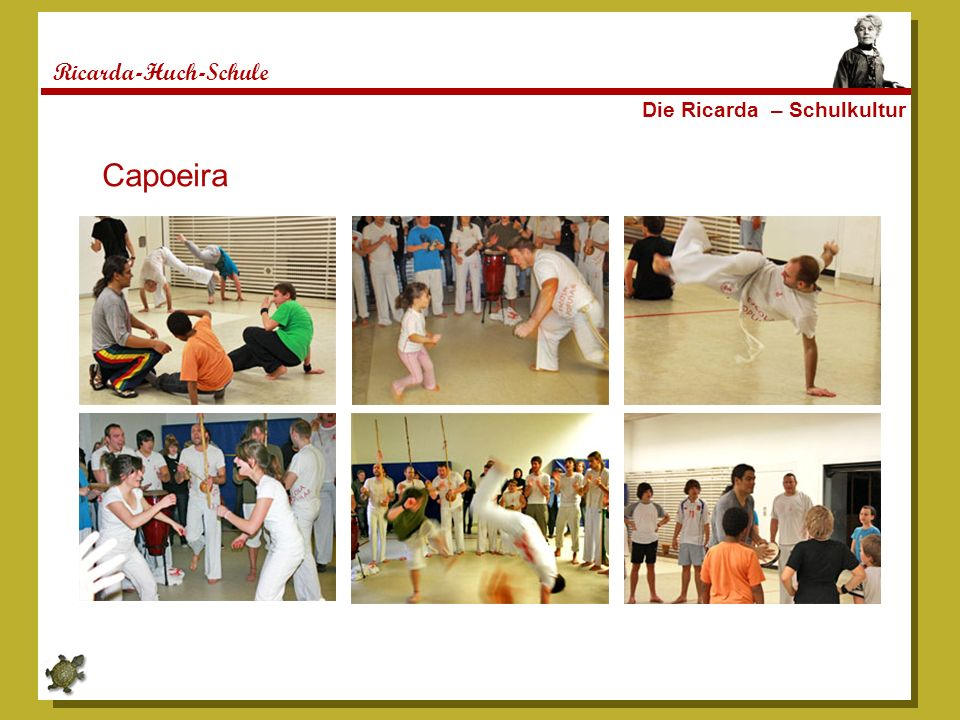 Ricarda-Huch-Schule Die Ricarda – Schulkultur Capoeira