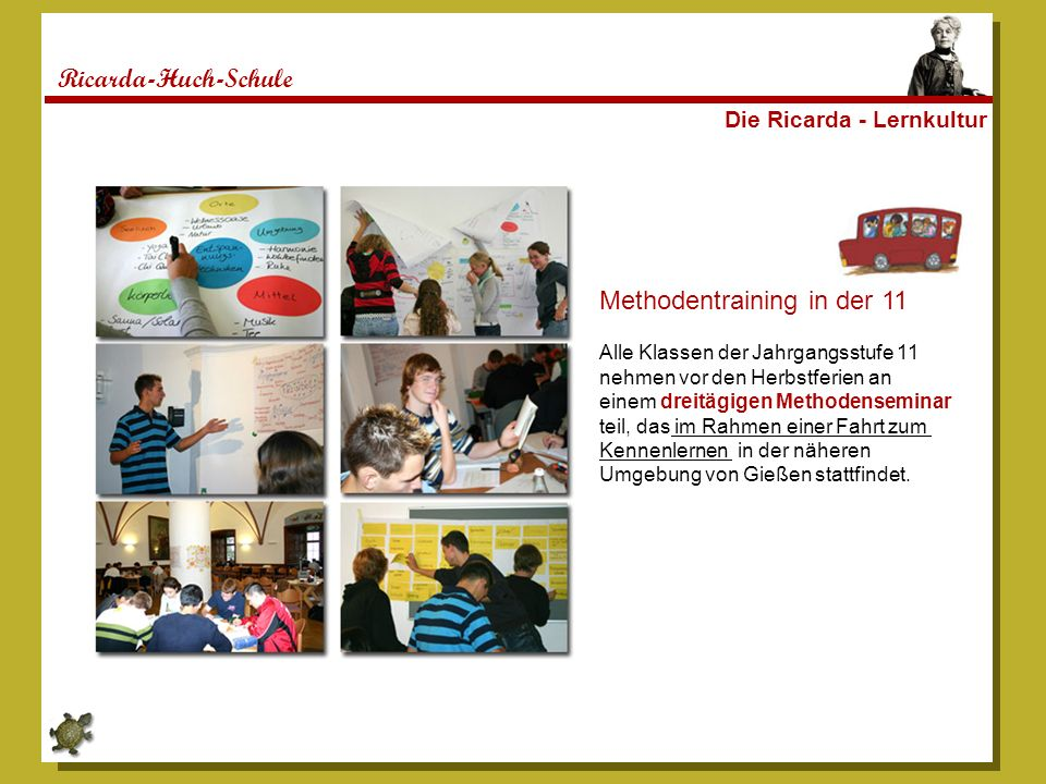 Methodentraining in der 11