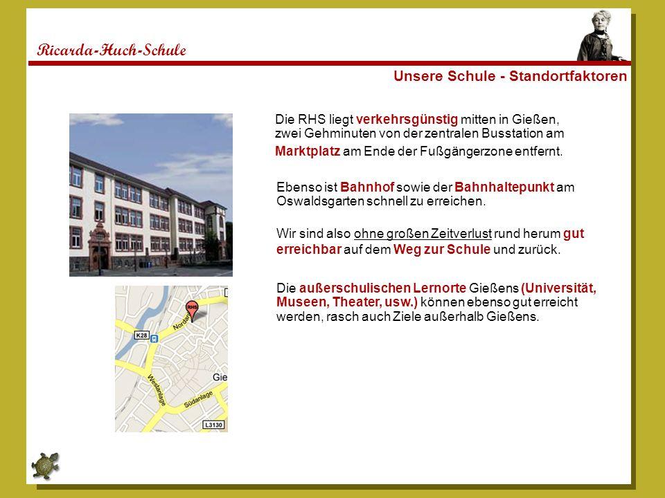 Ricarda-Huch-Schule Unsere Schule - Standortfaktoren
