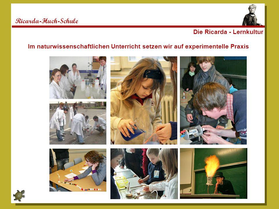 Ricarda-Huch-Schule Die Ricarda - Lernkultur