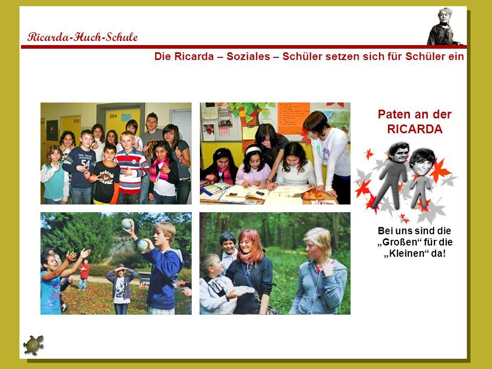 Ricarda-Huch-Schule Paten an der RICARDA