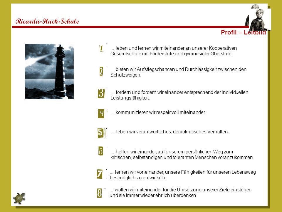 Ricarda-Huch-Schule Profil – Leitbild