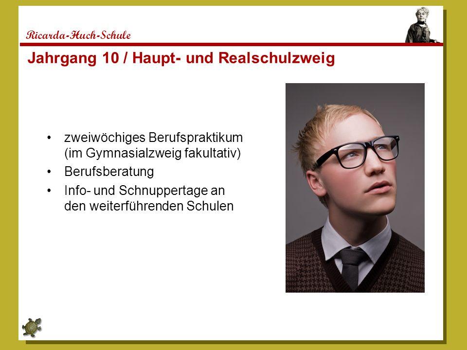 Jahrgang 10 / Haupt- und Realschulzweig