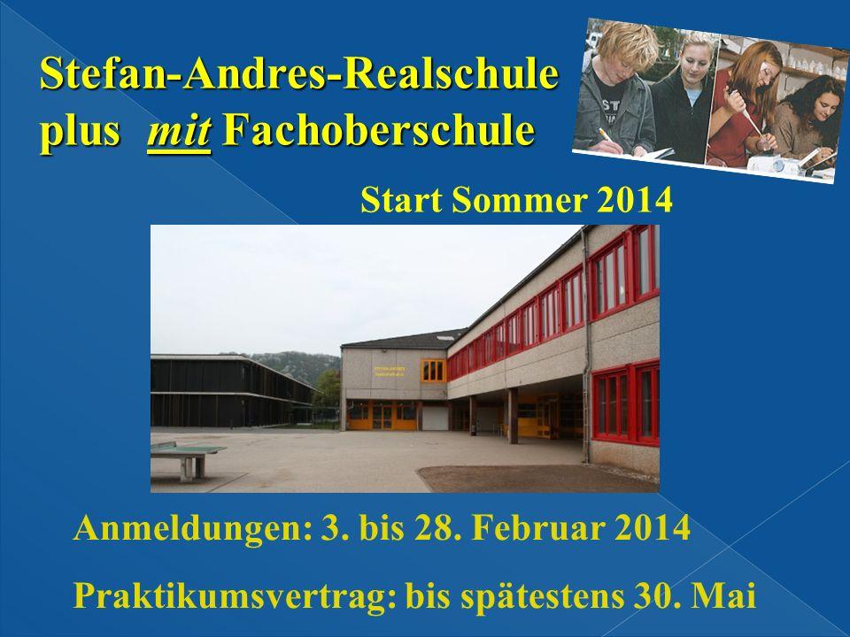 Stefan-Andres-Realschule plus mit Fachoberschule