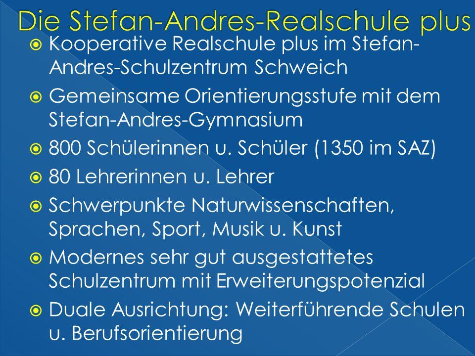 Die Stefan-Andres-Realschule plus