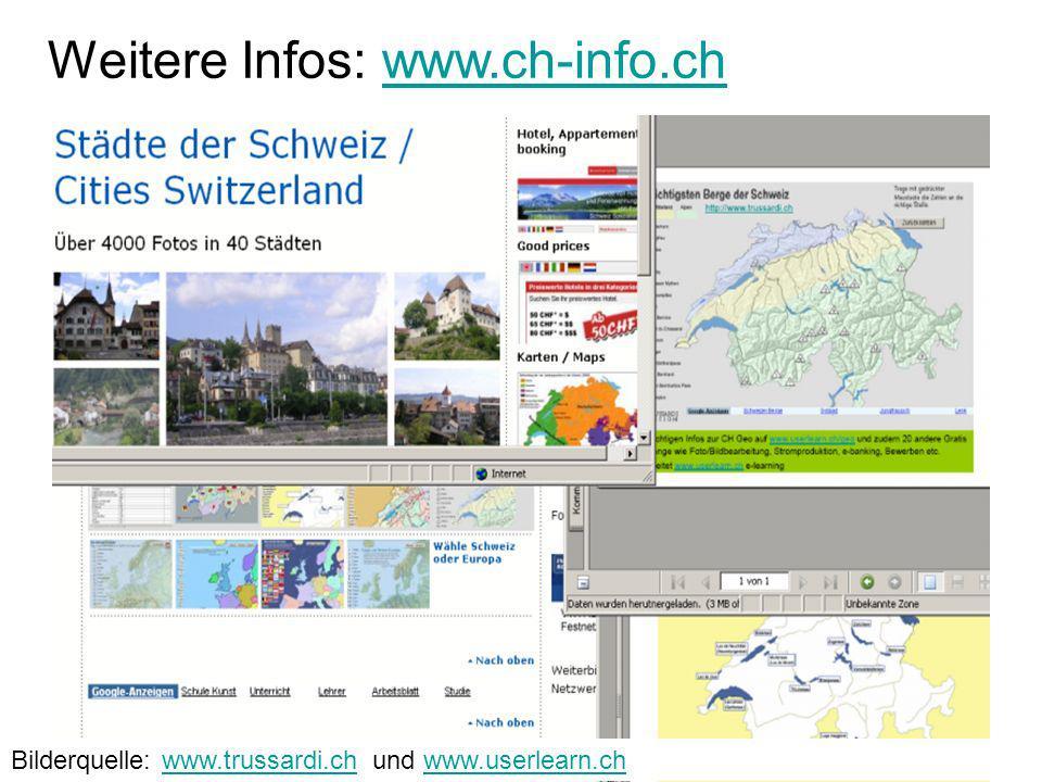 Weitere Infos: www.ch-info.ch
