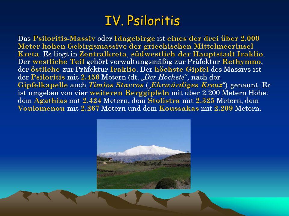 IV. Psiloritis