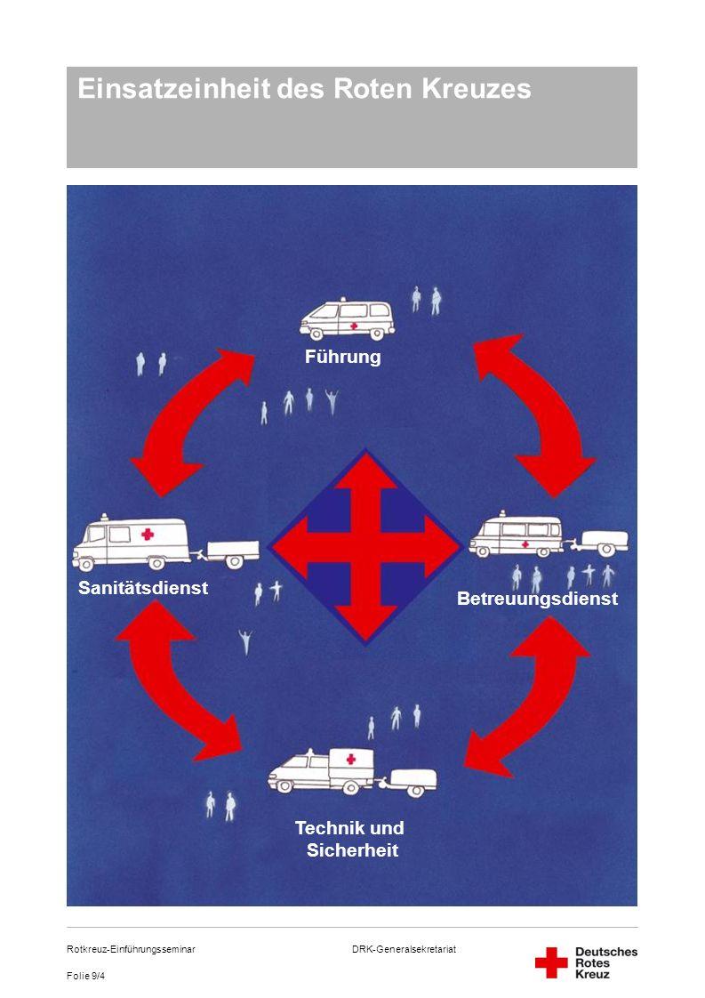 Einsatzeinheit des Roten Kreuzes