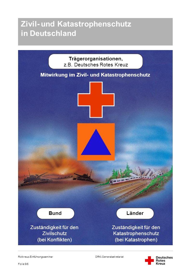Zivil- und Katastrophenschutz in Deutschland