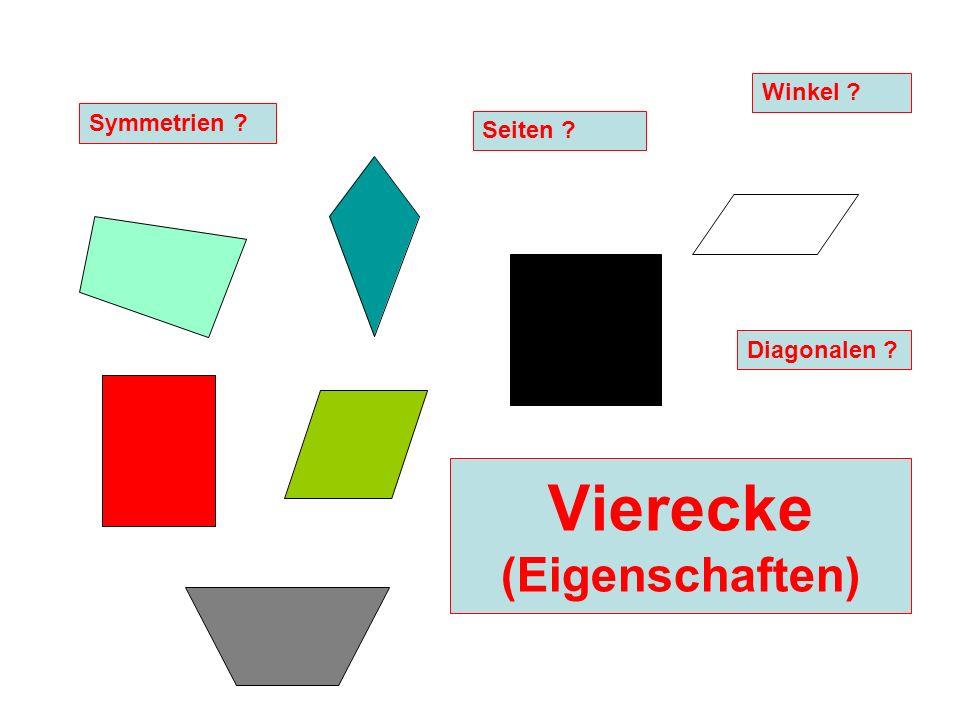 Vierecke (Eigenschaften)