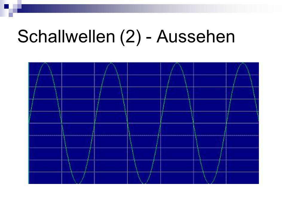 Schallwellen (2) - Aussehen