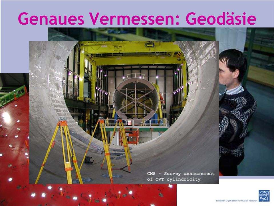 Genaues Vermessen: Geodäsie