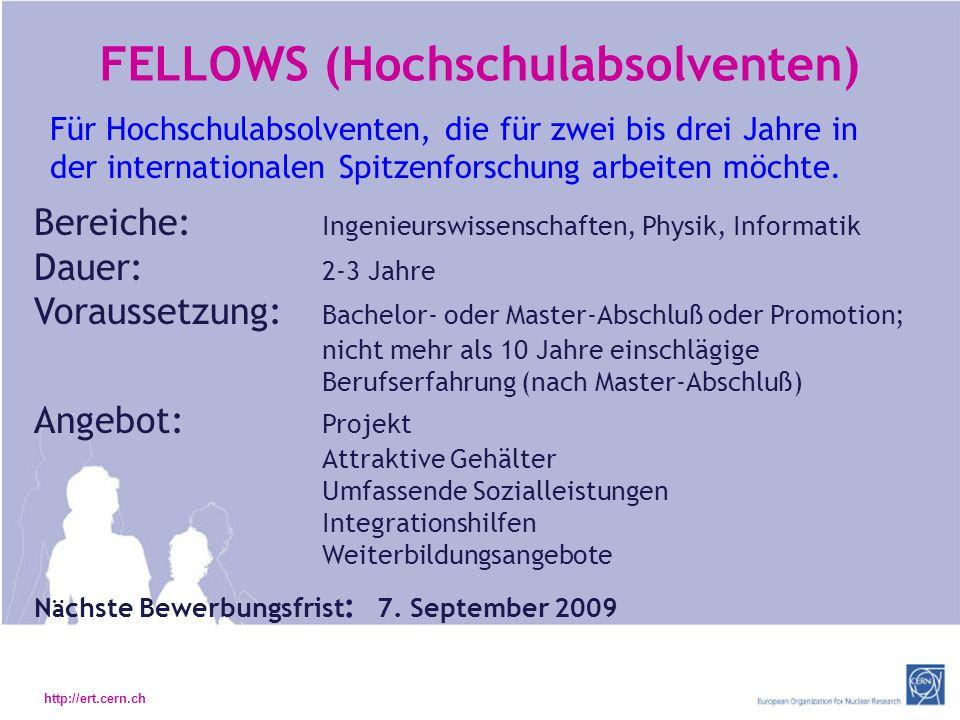 FELLOWS (Hochschulabsolventen)