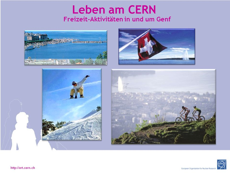Freizeit-Aktivitäten in und um Genf