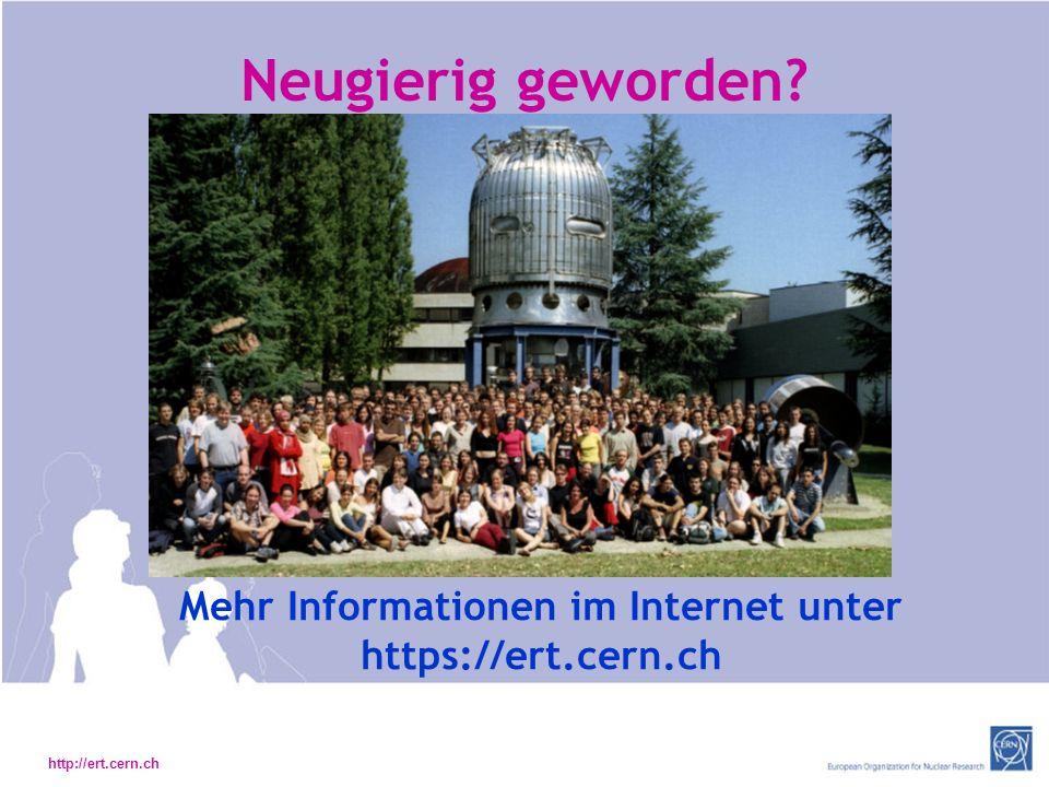 Mehr Informationen im Internet unter