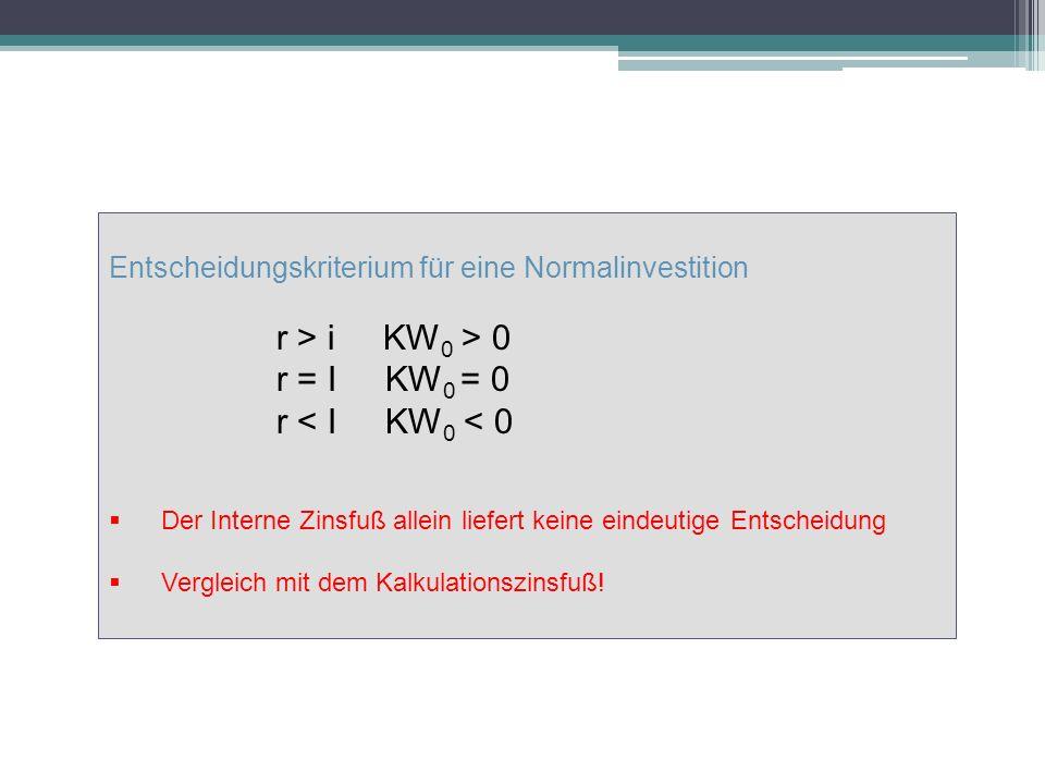 r > i KW0 > 0 r = I KW0 = 0 r < I KW0 < 0