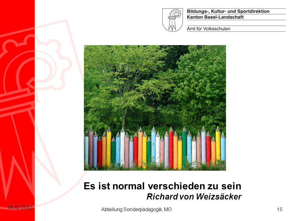 Es ist normal verschieden zu sein Richard von Weizsäcker