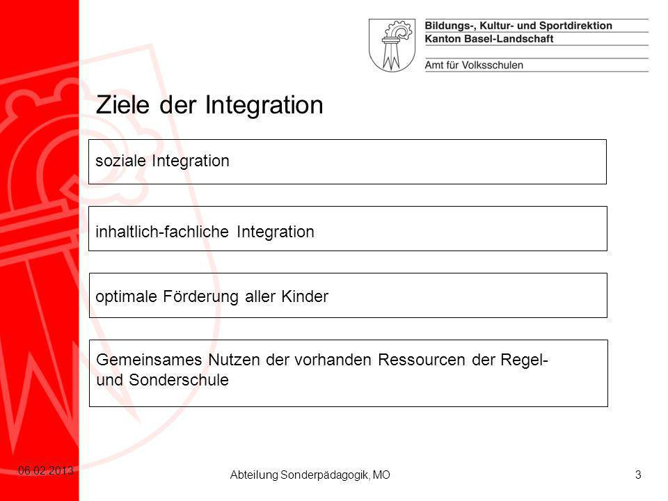Ziele der Integration soziale Integration