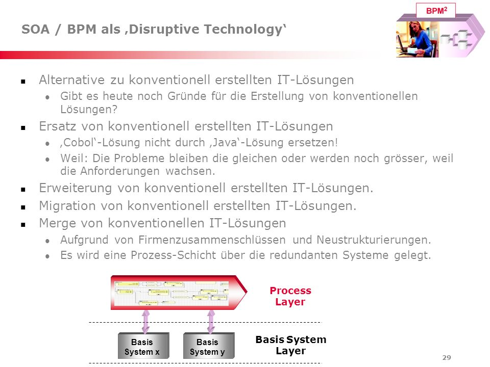 SOA / BPM als 'Disruptive Technology'