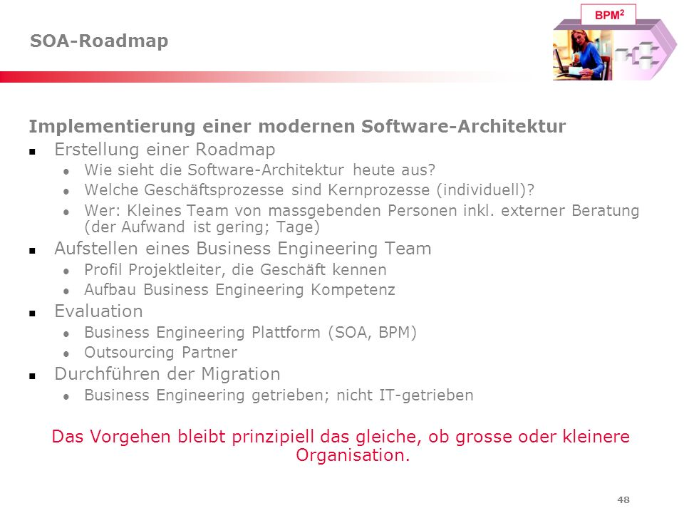 Implementierung einer modernen Software-Architektur