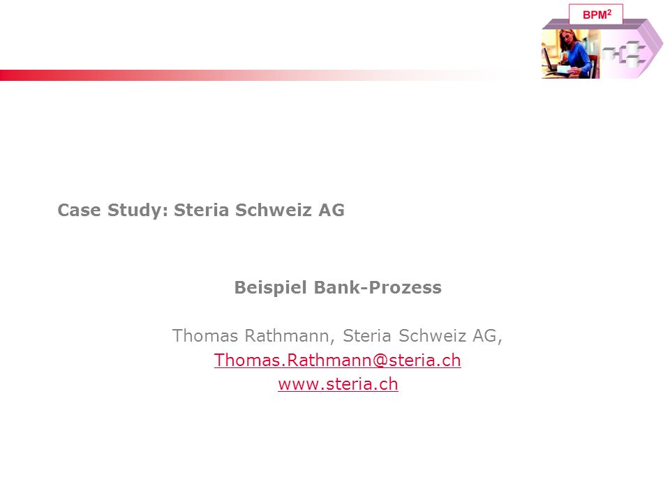 Case Study: Steria Schweiz AG