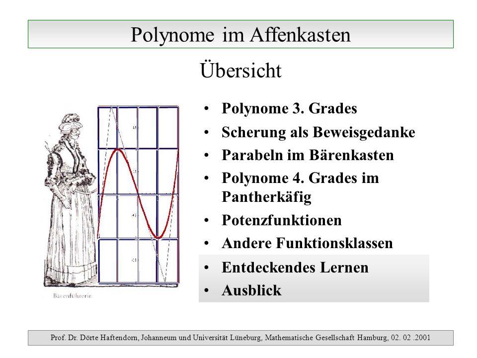 Polynome im Affenkasten