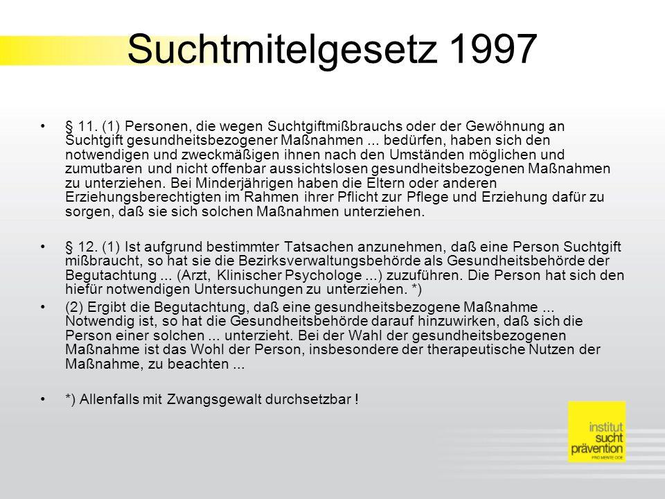 Suchtmitelgesetz 1997
