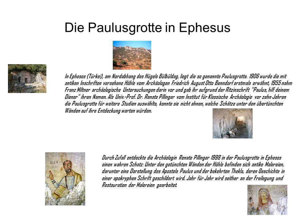 Die Paulusgrotte in Ephesus
