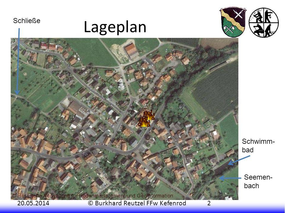 Lageplan Schließe Schwimm- bad Seemen- bach