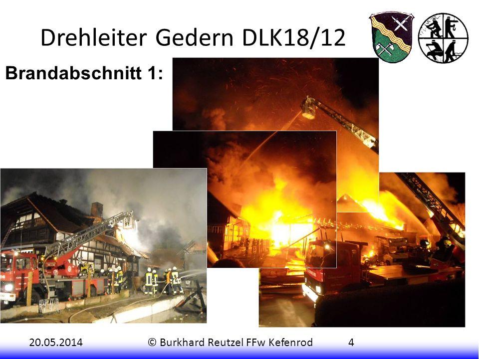 Drehleiter Gedern DLK18/12