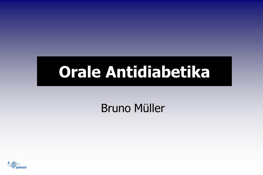 Orale Antidiabetika Bruno Müller
