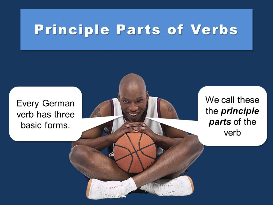 Principle Parts of Verbs