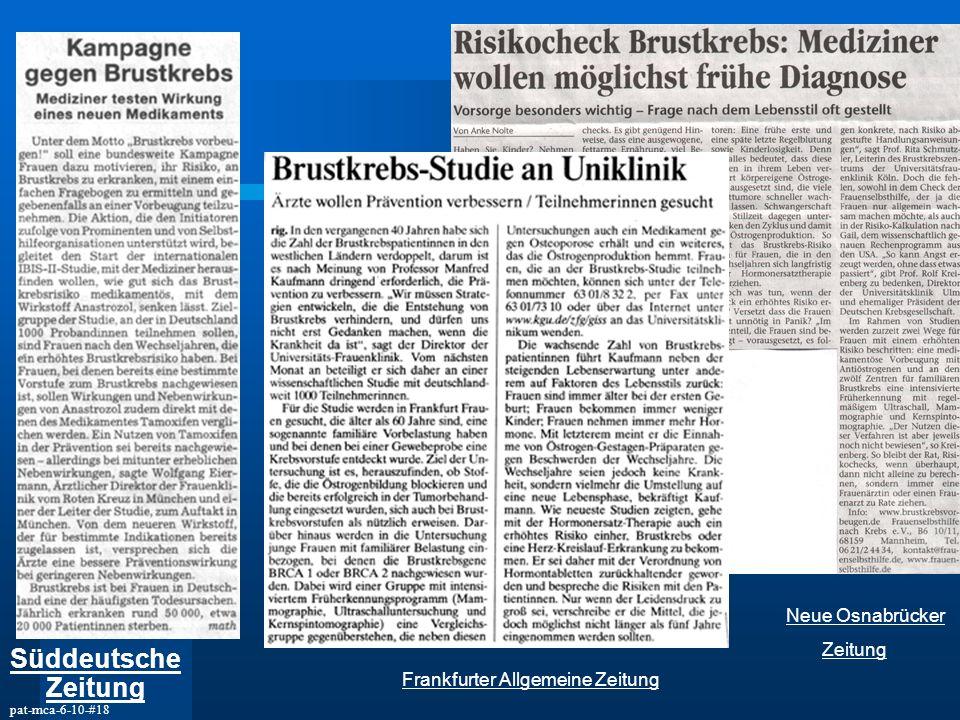 Süddeutsche Zeitung Neue Osnabrücker Zeitung