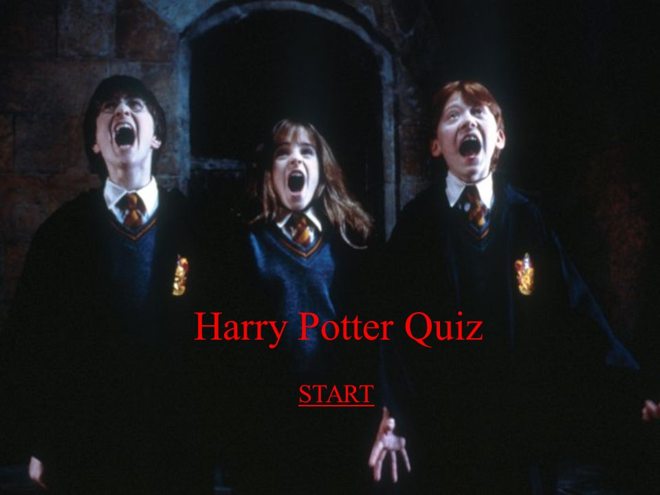 Harry Potter Quiz START