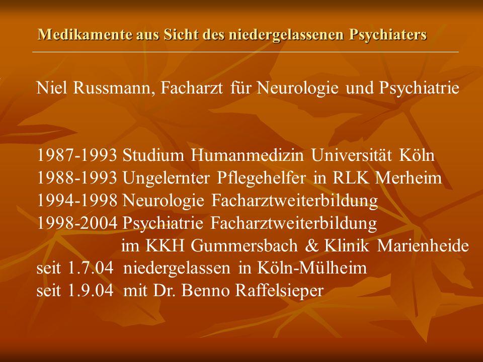 Niel Russmann, Facharzt für Neurologie und Psychiatrie