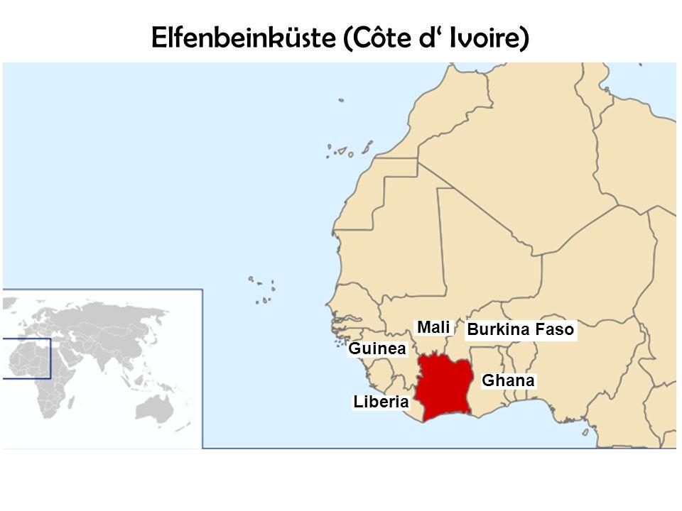 Elfenbeinküste (Côte d' Ivoire)