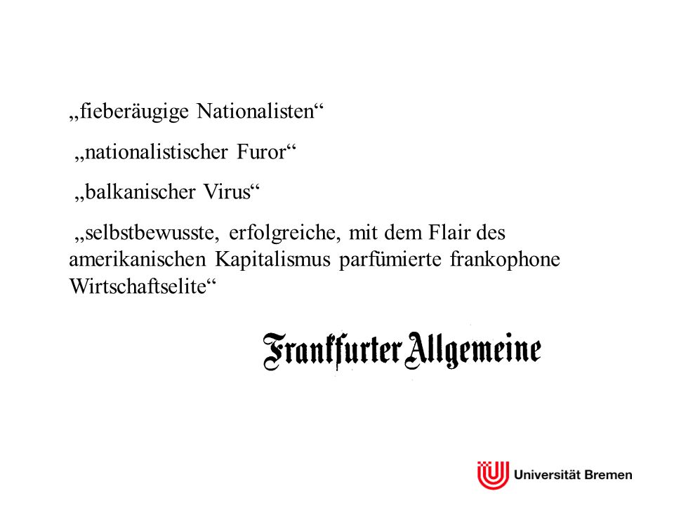 """fieberäugige Nationalisten"
