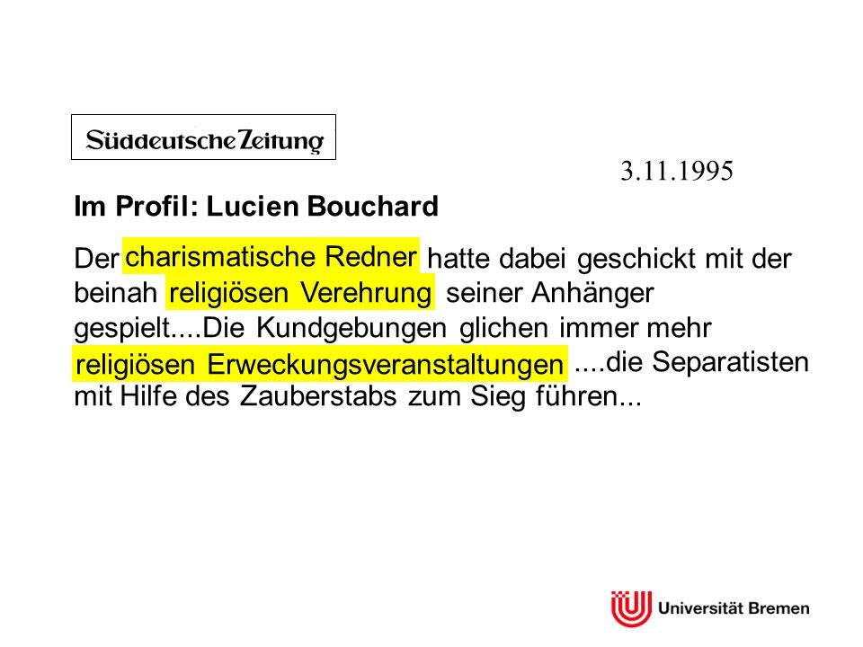 Im Profil: Lucien Bouchard