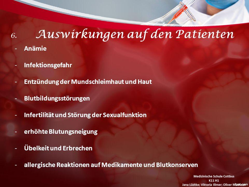 6. Auswirkungen auf den Patienten