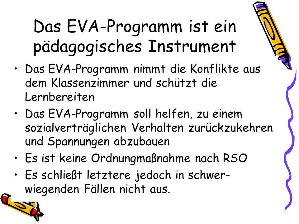 Das EVA-Programm ist ein pädagogisches Instrument