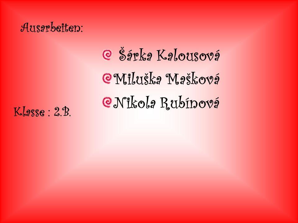 Miluška Mašková Nikola Rubínová