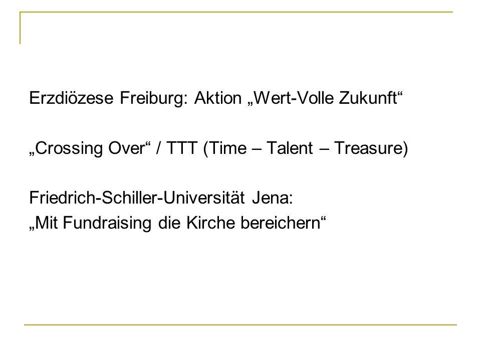 """Erzdiözese Freiburg: Aktion """"Wert-Volle Zukunft"""