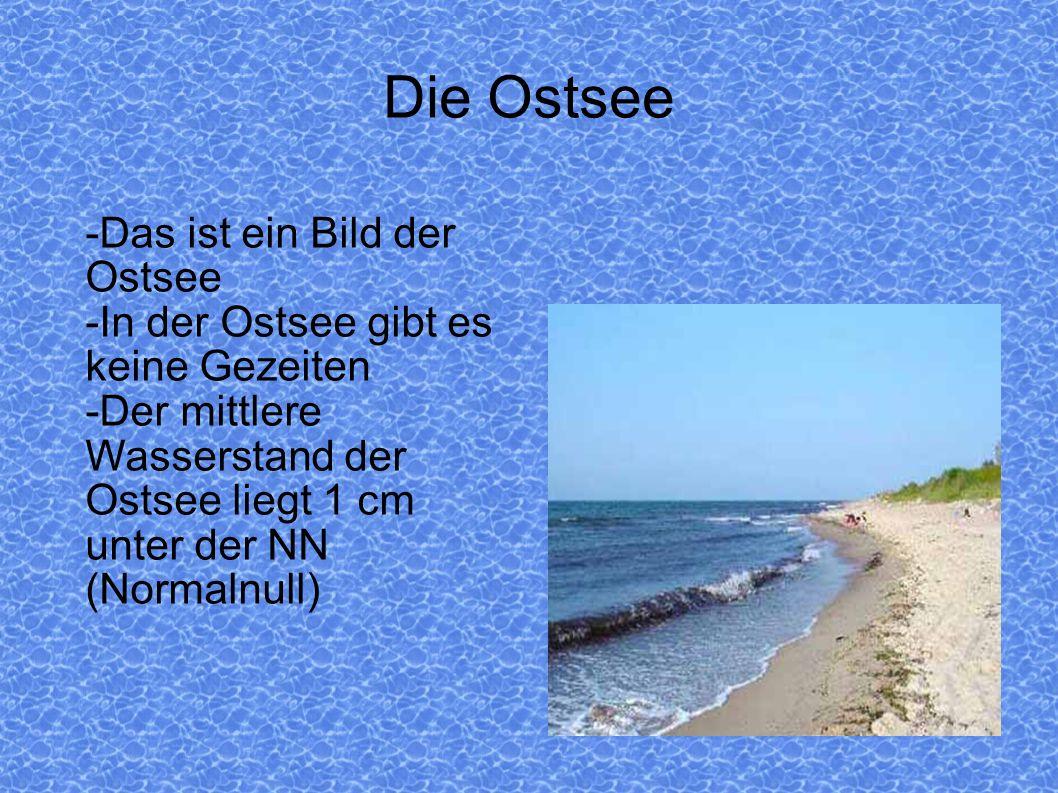 Die Ostsee -Das ist ein Bild der Ostsee