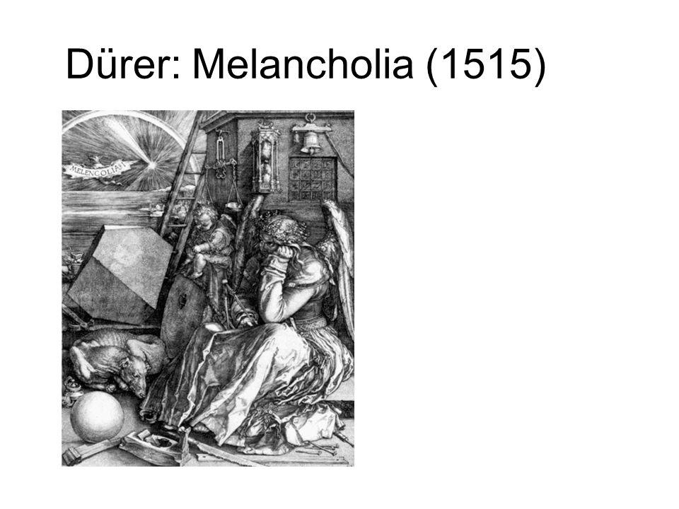 Dürer: Melancholia (1515)